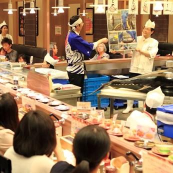 <シフトは柔軟に対応OK>回転寿司のお店で、ホール・キッチンスタッフ大募集!